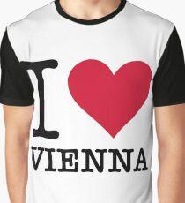 I Love Vienna Graphic T-Shirt