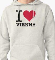 I Love Vienna Pullover Hoodie