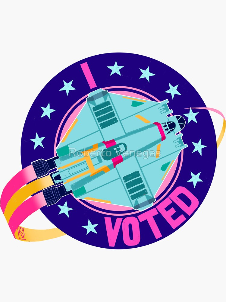 I Voted Ghost by rvenegas