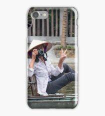 Vietnamese Photographer Boat Lady  iPhone Case/Skin
