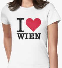 I Love Vienna Women's Fitted T-Shirt