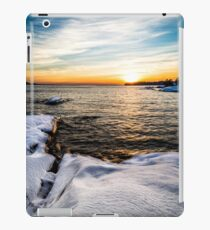 Winter sunset iPad Case/Skin