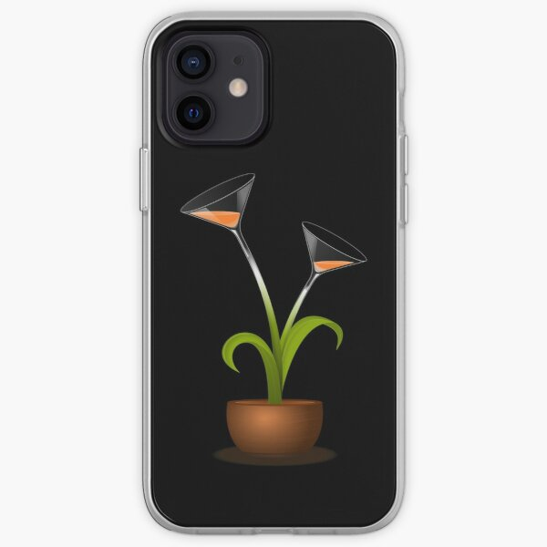 Cocktail Lily Calla iPhone Soft Case