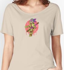 NERD TURTLE Women's Relaxed Fit T-Shirt