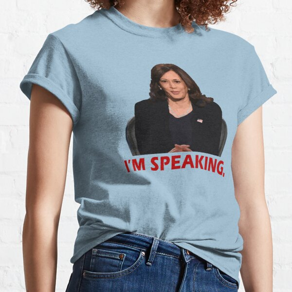Kamala Harris I'm Speaking VP Debate Quote Classic T-Shirt