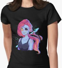Undyne Women's Fitted T-Shirt