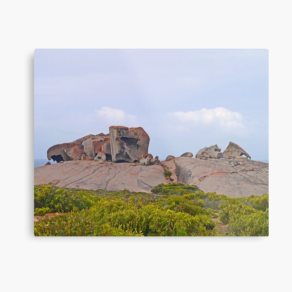 The Remarkables, South Australia Metal Print