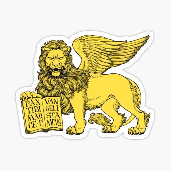 Lion of Venice Sticker