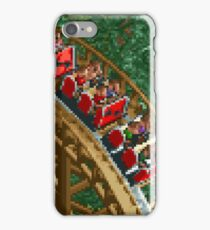 RCT - Wooden Roller Coaster iPhone Case/Skin