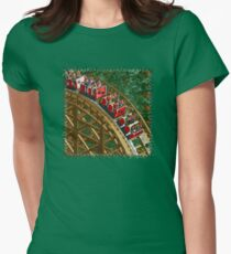 RCT - Wooden Roller Coaster Fitted T-Shirt