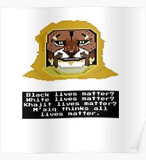 M'aiq on #BLM Poster