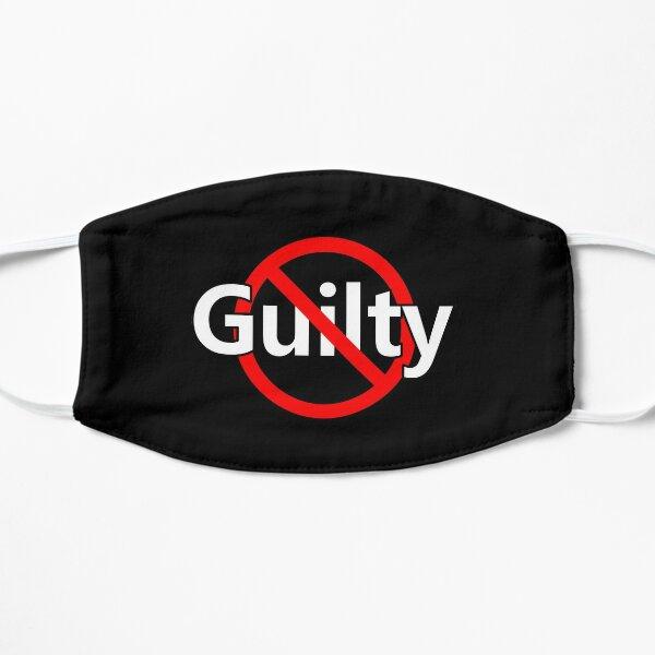 No Guilt - Innocent -  Not Guilty Flat Mask