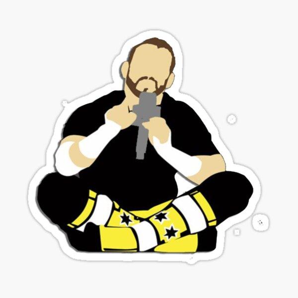 CM Punk - PipeBomb Cartoon Sticker