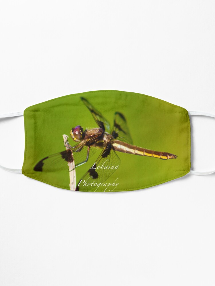 Alternate view of  Dragonfly of the enchanted forest by Yannis Lobaina  Mask