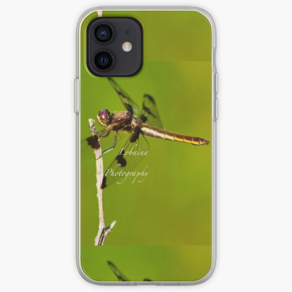 Dragonfly of the enchanted forest by Yannis Lobaina  iPhone Soft Case