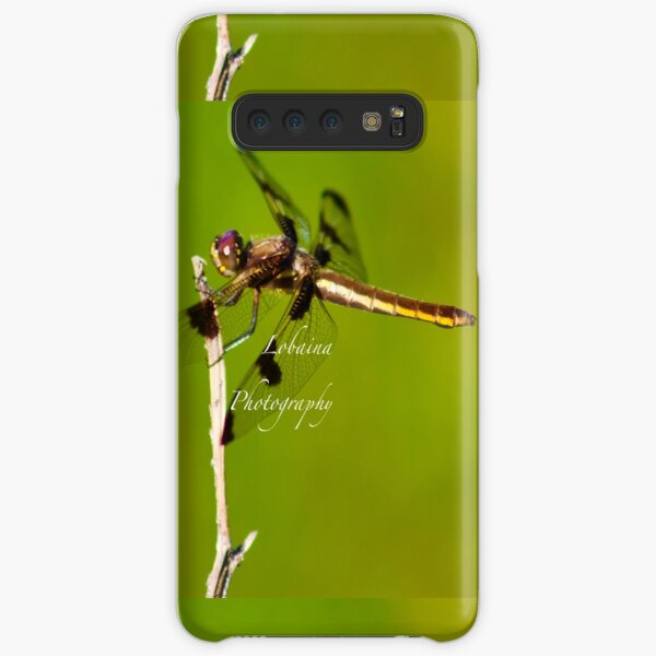 Dragonfly of the enchanted forest by Yannis Lobaina  Samsung Galaxy Snap Case