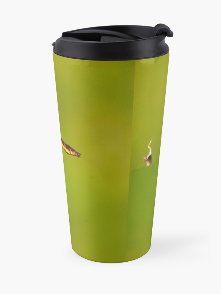 Alternate view of  Dragonfly of the enchanted forest by Yannis Lobaina  Travel Mug