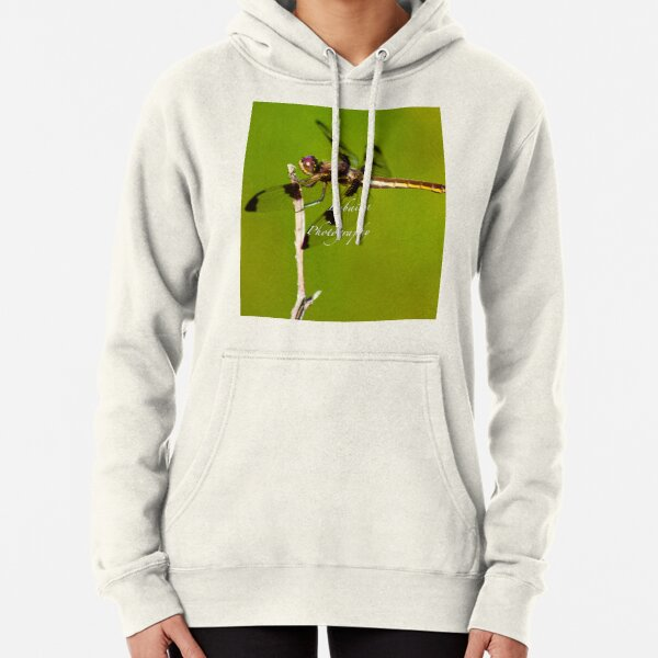 Dragonfly of the enchanted forest by Yannis Lobaina  Pullover Hoodie