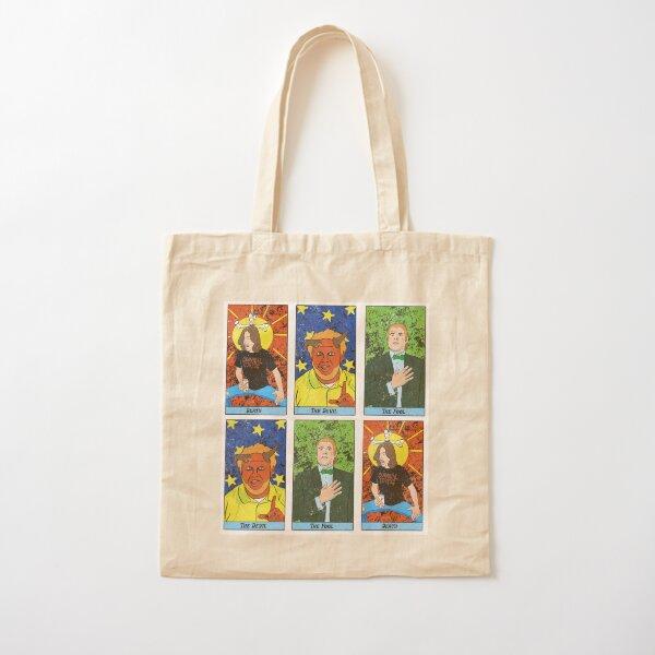 LP Tarot Cards Cotton Tote Bag