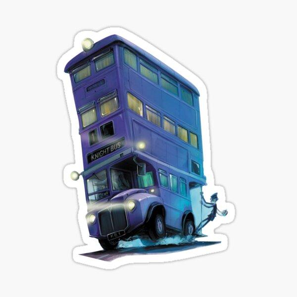 Bus de chevalier Sticker