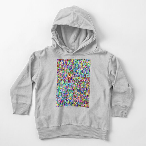 Visual Psychedelic Art, Easy Optical ILLusion Tessellation Toddler Pullover Hoodie