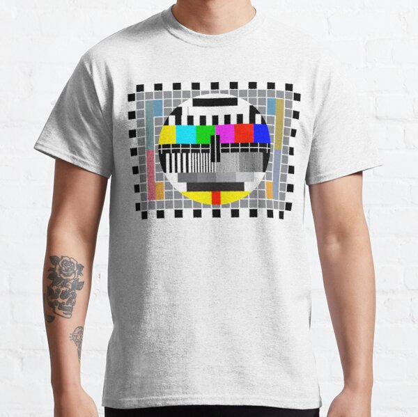 PAL test card Classic T-Shirt