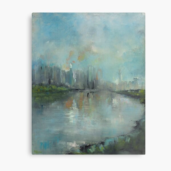 From Kangaroo Point Cliffs Metal Print