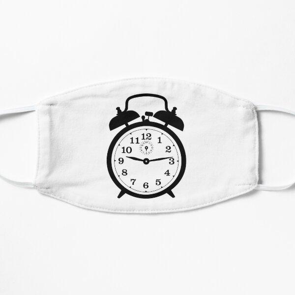 Alarm Clock Flat Mask