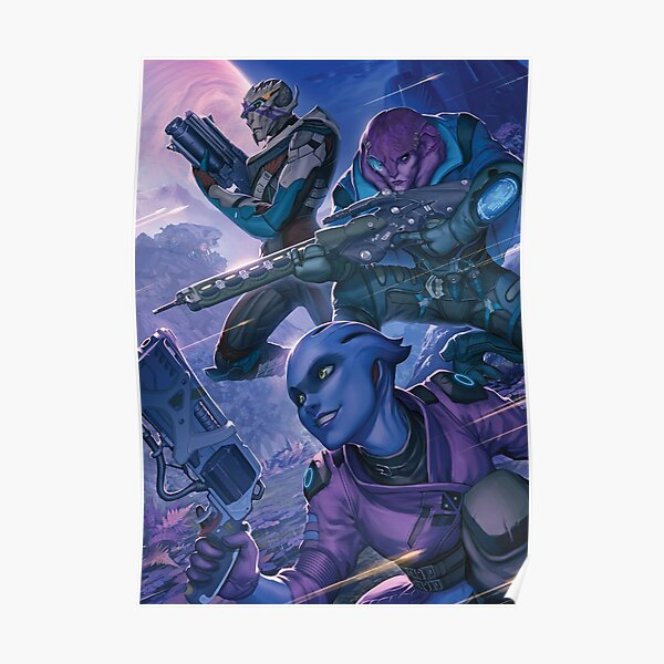 One Special Game Mass Effect Poster