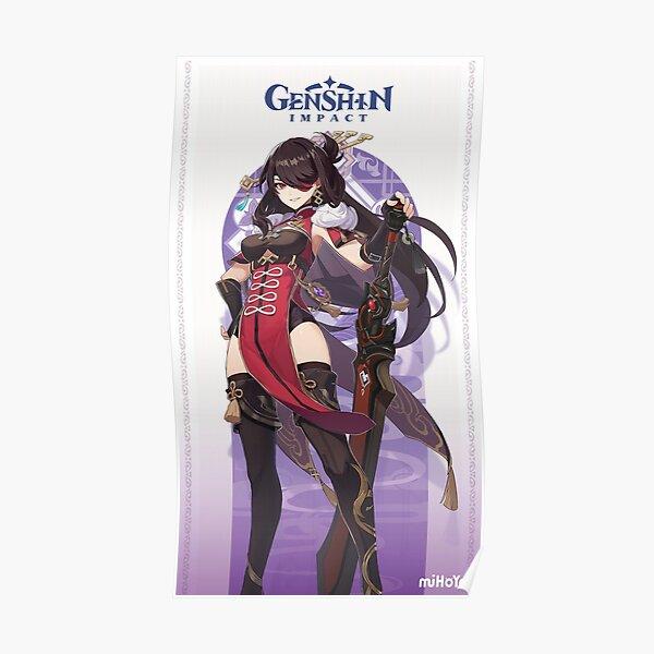 Genshin Impact Beidou Poster