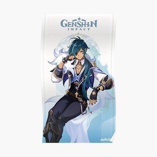 Genshin Impact Kaeya Poster