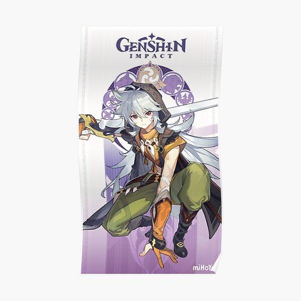 Genshin Impact Razor Poster