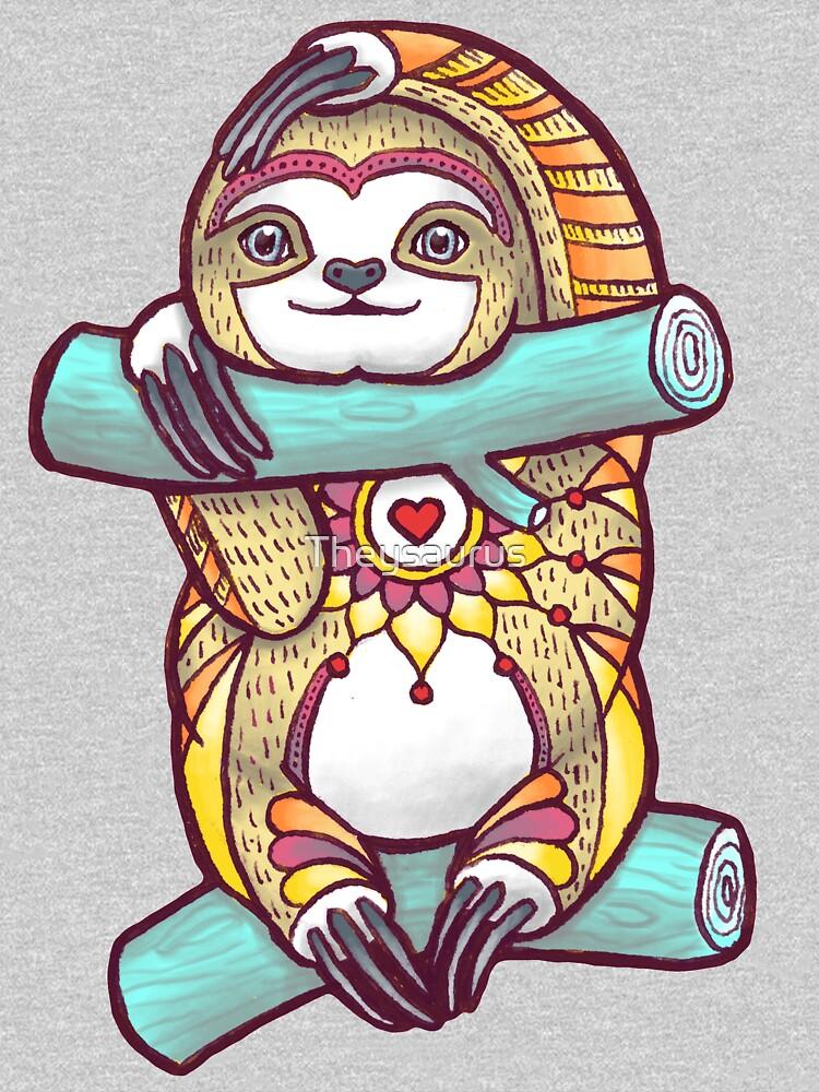 Mandala Sloth by Theysaurus