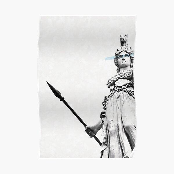 Athena the goddess of wisdom Poster