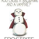 What do you get when you cross a snowman and a vampire by cheezup