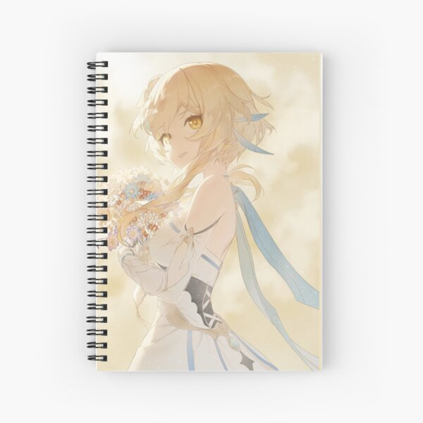 Lumine  - Genshin Impact Spiral Notebook