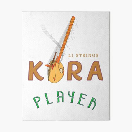 KORA PLAYER Art Board Print
