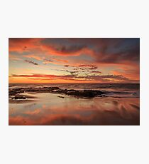 Sandy Reflections Photographic Print
