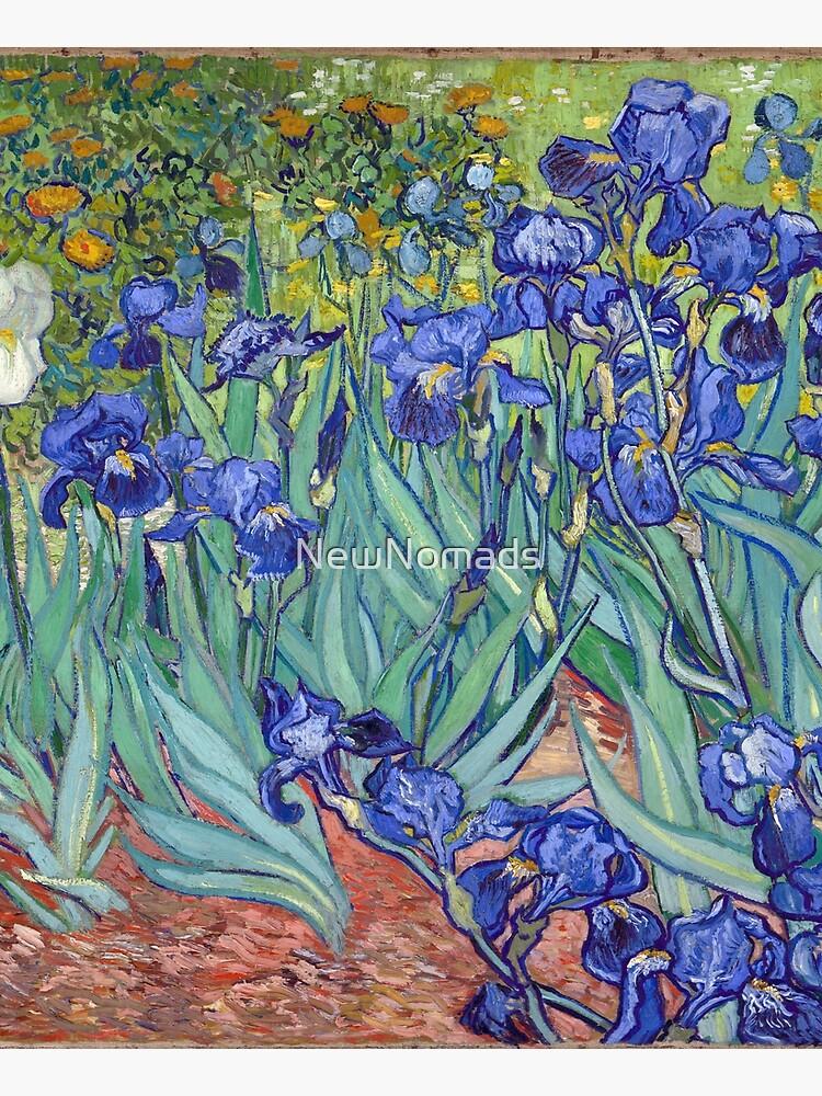 Van Gogh - Irises by NewNomads