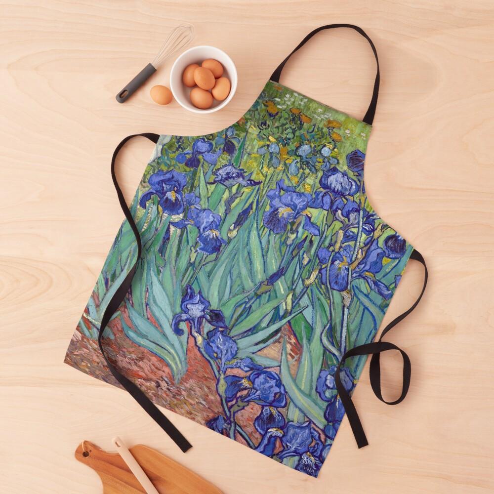 Van Gogh - Irises Apron