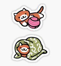 Neko Atsume Ginger Sticker