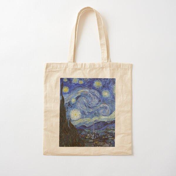 Noche estrellada - Vincent Van Gogh Bolsa de algodón