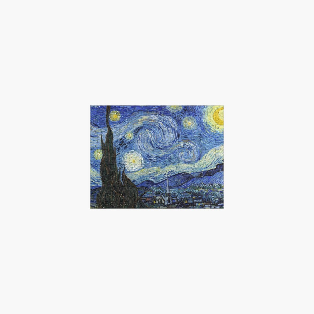 Starry Night - Vincent Van Gogh Jigsaw Puzzle