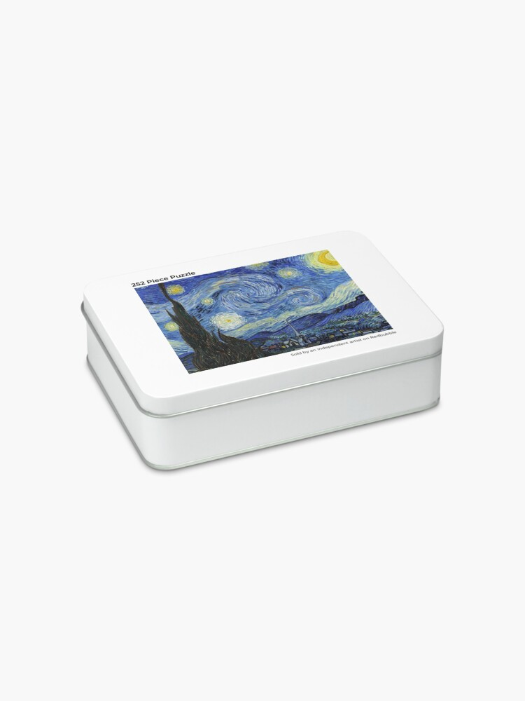 Alternate view of Starry Night - Vincent Van Gogh Jigsaw Puzzle