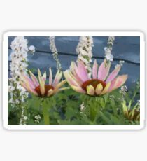 Echinacea Blossoms Sticker