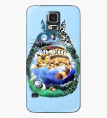 Funda/vinilo para Samsung Galaxy Tu vecino Totoro