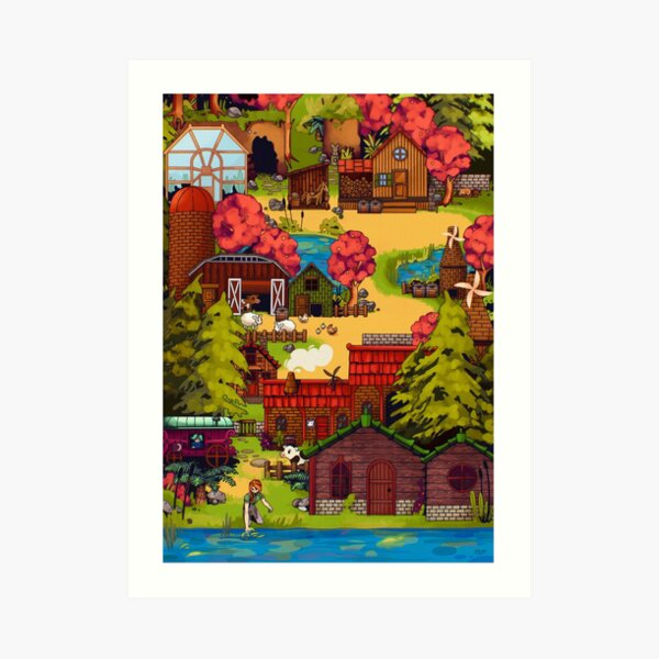 One Special Day Stardew Valley Art Print