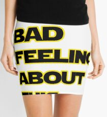 Star Wars Quote  Mini Skirt