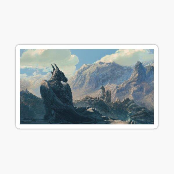 The Grigon of the mountains Sticker