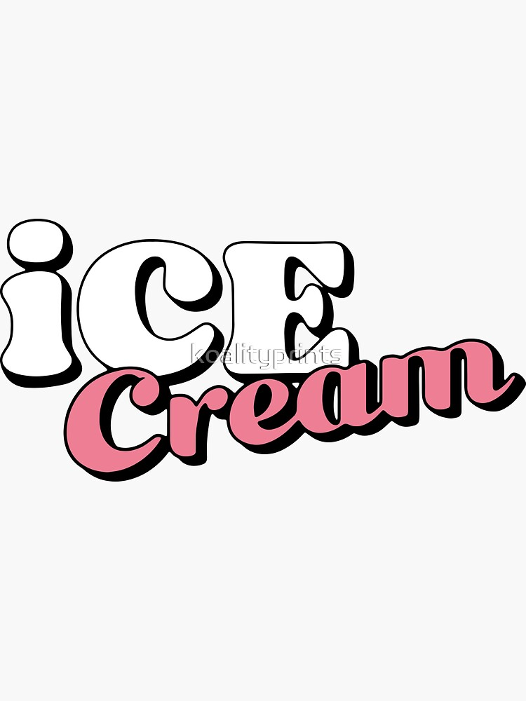 Ice cream Selpink Logo  by koalityprints